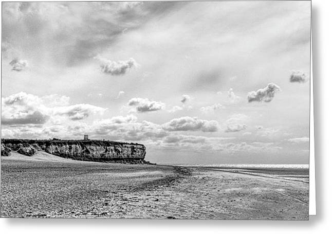 Old Hunstanton Beach, Norfolk Greeting Card by John Edwards