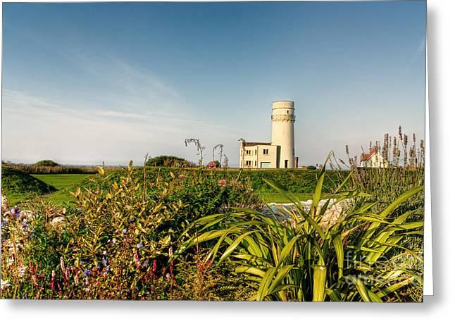 Old Hunstanton Lighthouse North Norfolk Uk Greeting Card