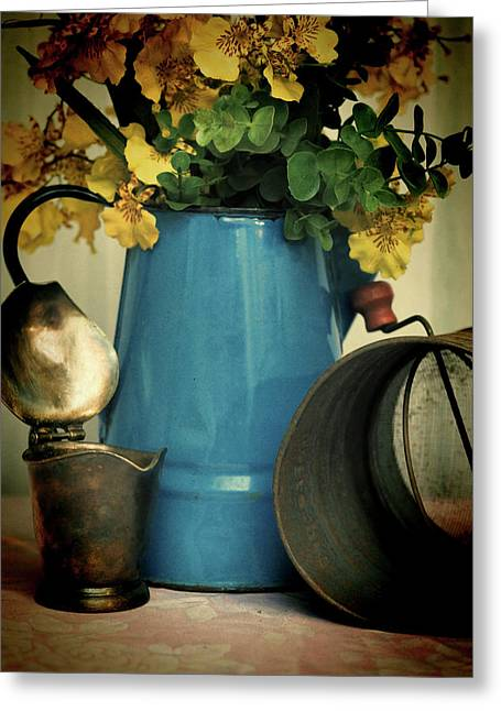 Old Kitchen Items Greeting Card