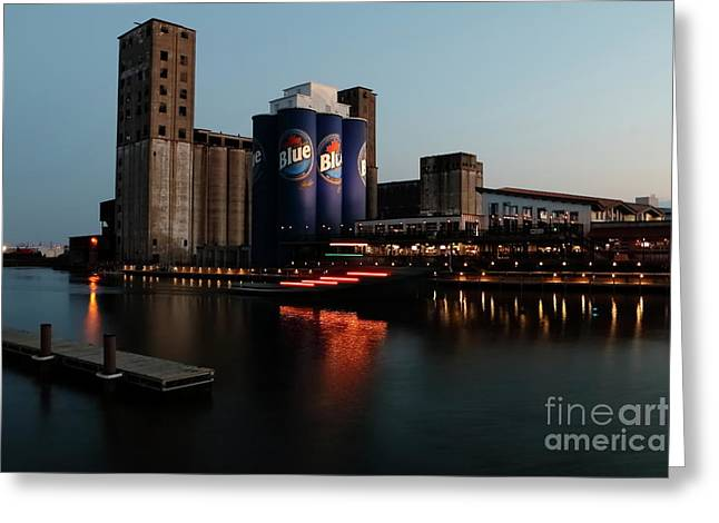 Old Lfc Grain Mill Given A Face Lift Greeting Card by Daniel J Ruggiero