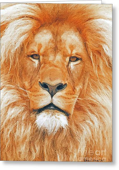 Wise old man greeting cards page 4 of 5 fine art america old lion greeting card m4hsunfo