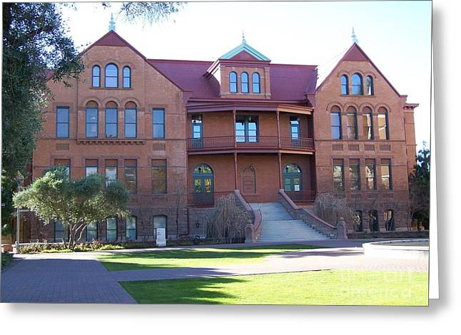 Old Main - Arizona State University Greeting Card