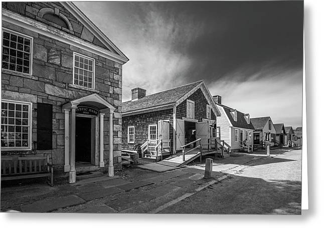 Greeting Card featuring the photograph Old Main Street by Steven Ainsworth