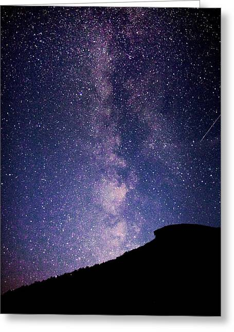 Old Man Milky Way Memorial Greeting Card