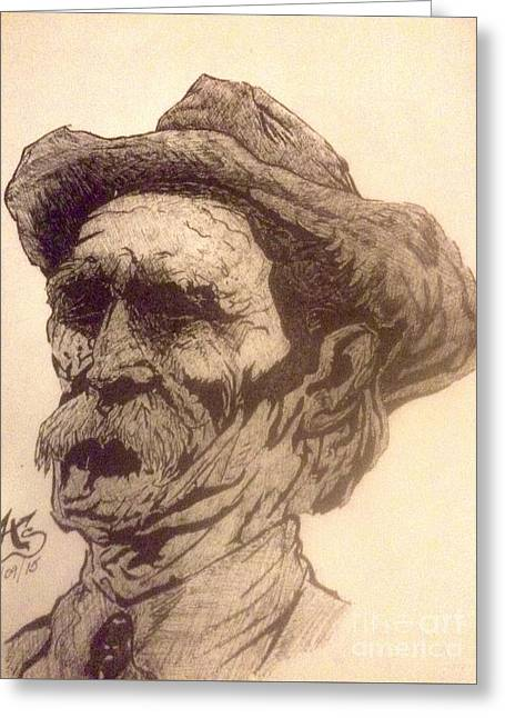 Old Man Of The Fifty Greeting Card