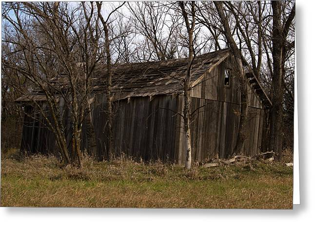 Old Maydale Barn Greeting Card