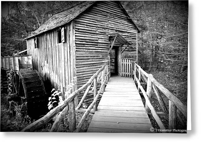 Old Mills Photographs Greeting Cards - Old Mill 1 Greeting Card by Todd Hostetter
