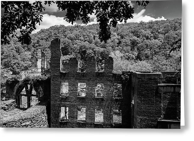 old Mill 3 Greeting Card