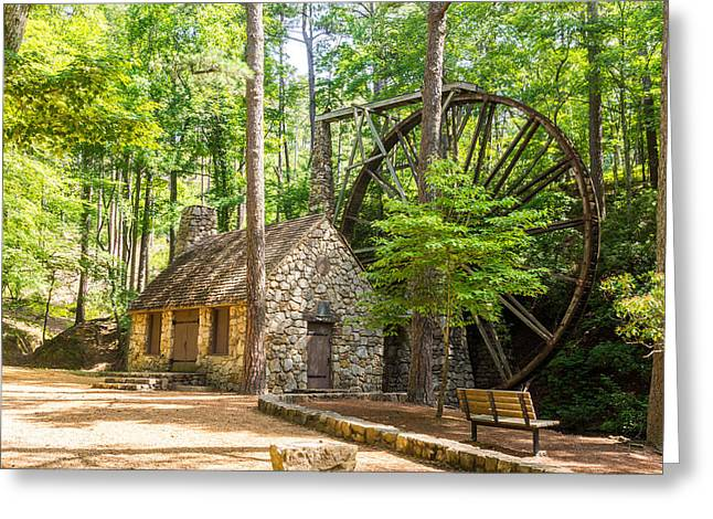 Old Mill At Berry College Greeting Card by Sussman Imaging