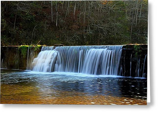 Old Mill Dam Greeting Card