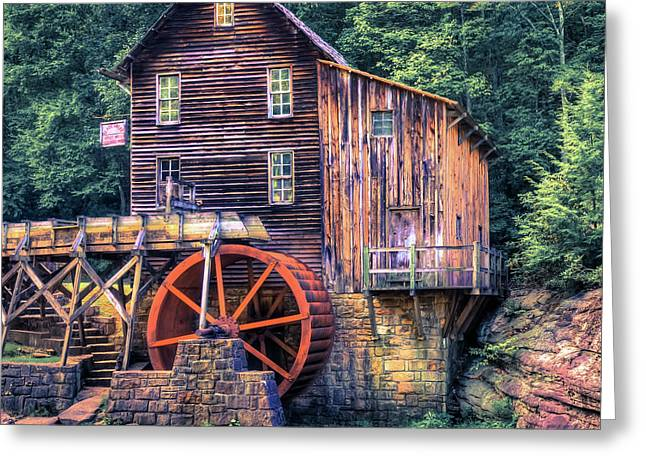 Old Mill In Beckley West Virginia Greeting Card