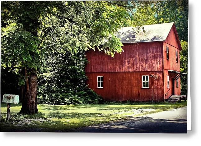 Old Mill In West Virginia Greeting Card