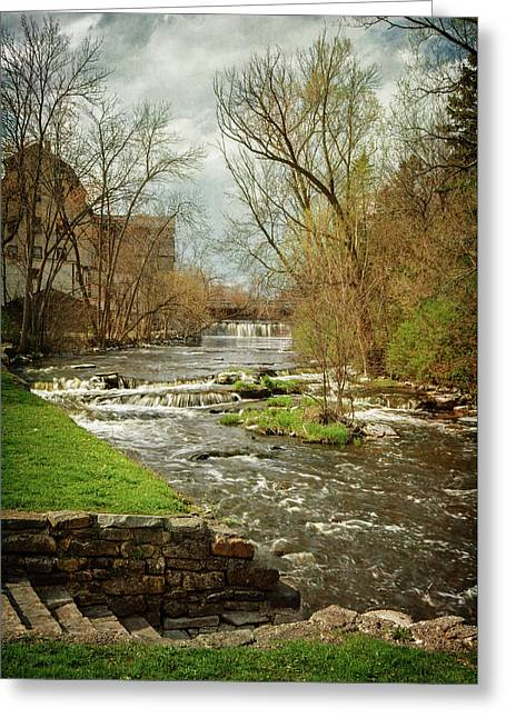 Old Mill On The River Greeting Card