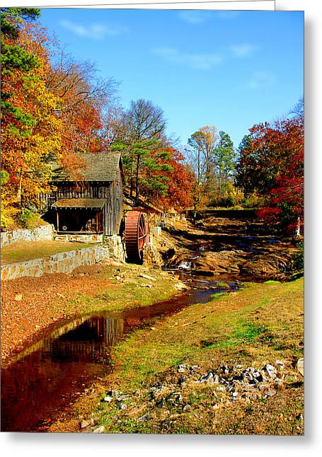 Old Mill Greeting Card by Ralph  Perdomo