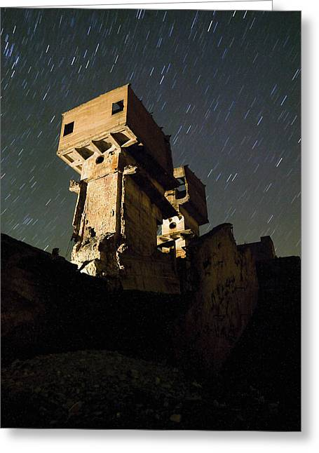 Old Mine Greeting Card by Andre Goncalves