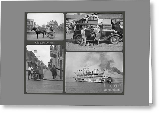 Old New Orleans Greeting Card