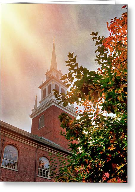 Old North Church - Boston Greeting Card