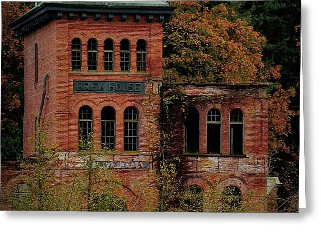 Old Olympia Brewery Greeting Card