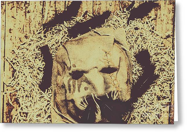 Old Outback Horrors Greeting Card by Jorgo Photography - Wall Art Gallery