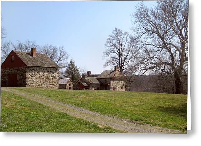 Old Pennsylvania Farmstead Greeting Card
