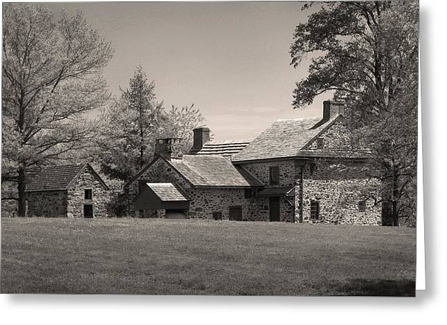 Old Pennsylvania Homestead Greeting Card