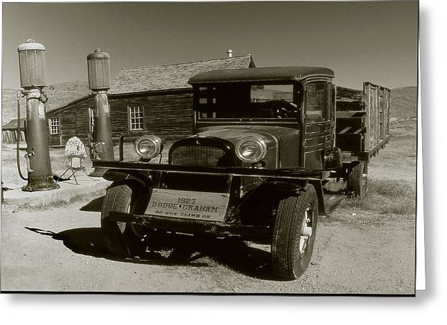 Old Pickup Truck 1927 - Vintage Photo Art Print Greeting Card