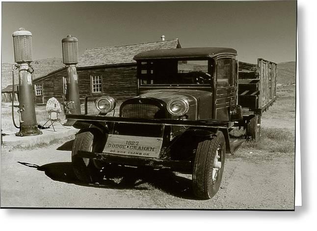 Old Pickup Truck 1927 - Vintage Photo Art Print Greeting Card