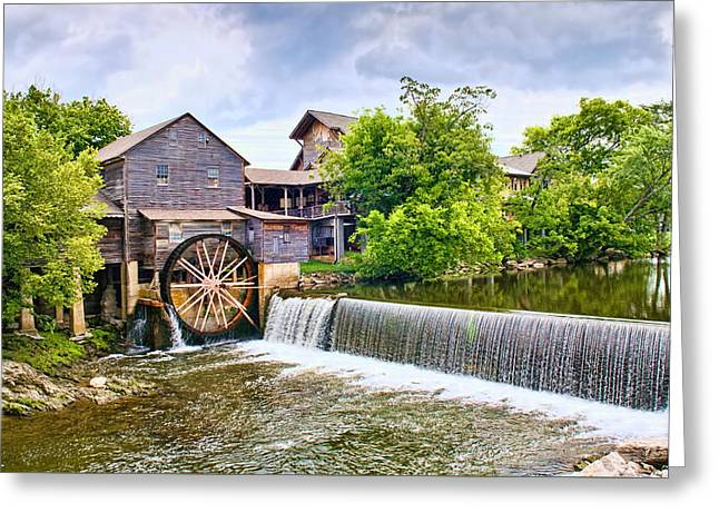 Old Pigeon Forge Mill Greeting Card