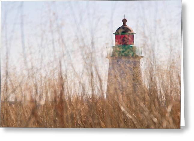 Old Point Comfort Light 2 Greeting Card by Robert Anastasi
