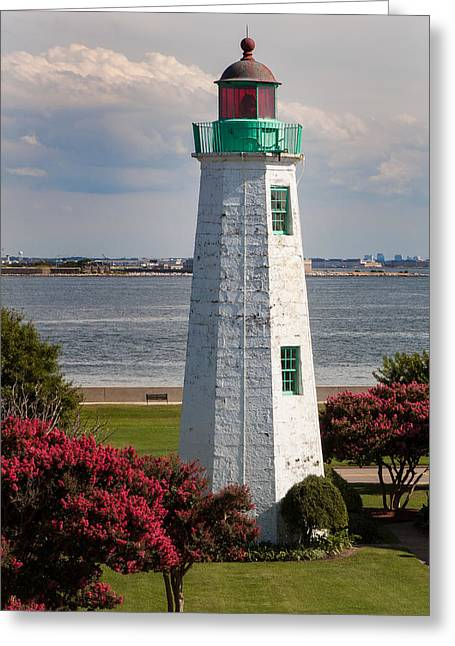 Old Point Comfort Light Greeting Card