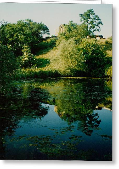 Greeting Card featuring the photograph Old Pond by Kathleen Stephens
