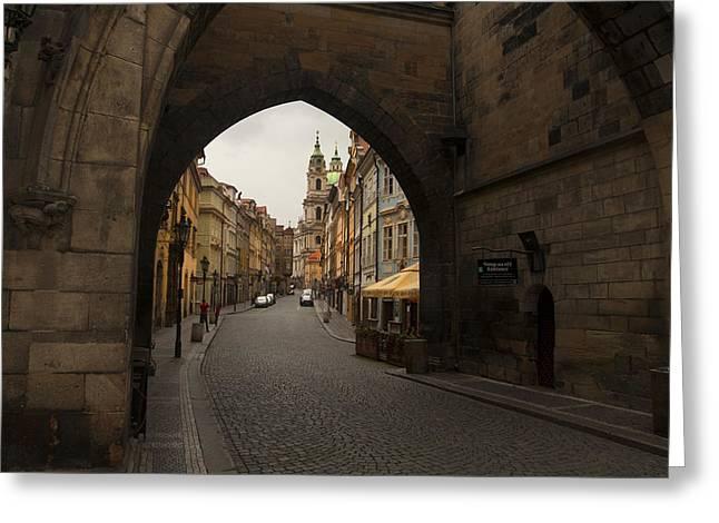 Old Prague Greeting Card