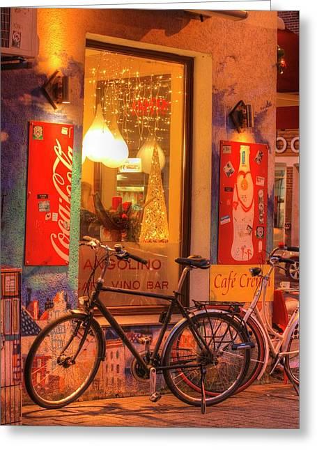 Old Pub At Dusk Greeting Card by Torsten Krueger