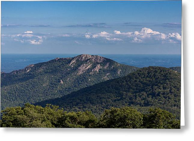 Old Rag Mountain Greeting Card by Chris Marcussen