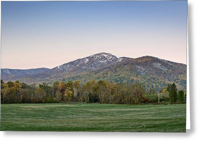 White Caps Greeting Cards - Old Rag Mountain morning - Virginia Greeting Card by Brendan Reals