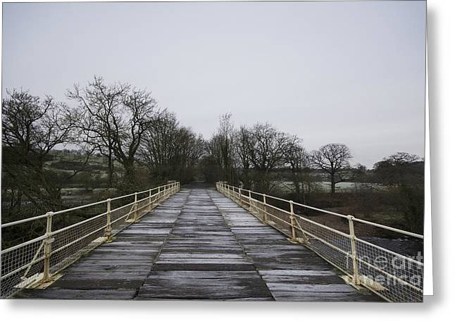 Old Railway Bridge Greeting Card by Nichola Denny