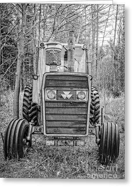 Old Reliable Tractor Greeting Card