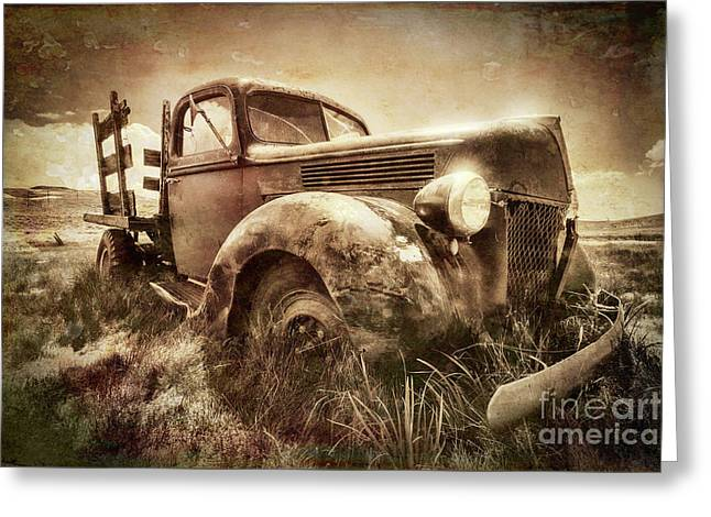 Greeting Card featuring the photograph Old Relic by Sharon Seaward