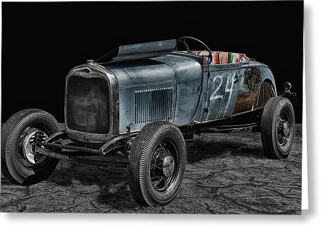 Old Roadster Greeting Card by Joachim G Pinkawa