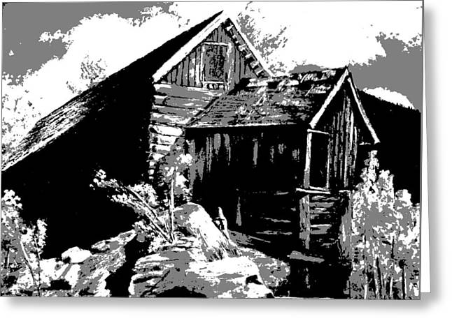 Old Rocky Mill Greeting Card