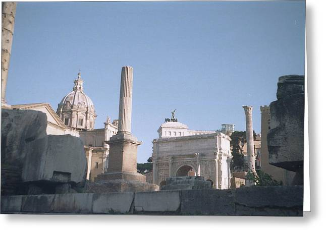 Old Rome Greeting Card