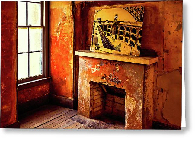 Old Room Ft Point Greeting Card by Garry Gay