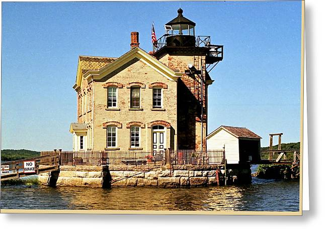 Old Saugerties Lighthouse Greeting Card