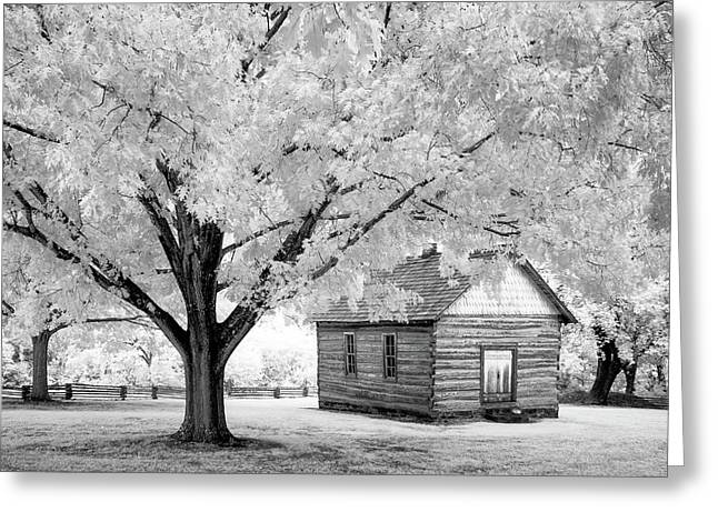 Old Schoolhouse Greeting Card