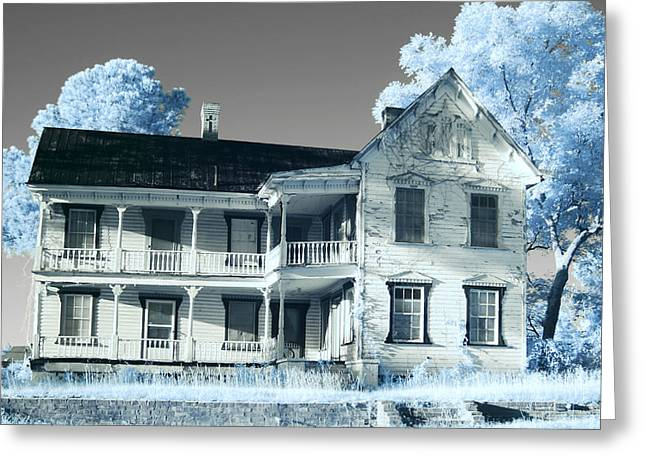 Old Shull House In 642 Greeting Card