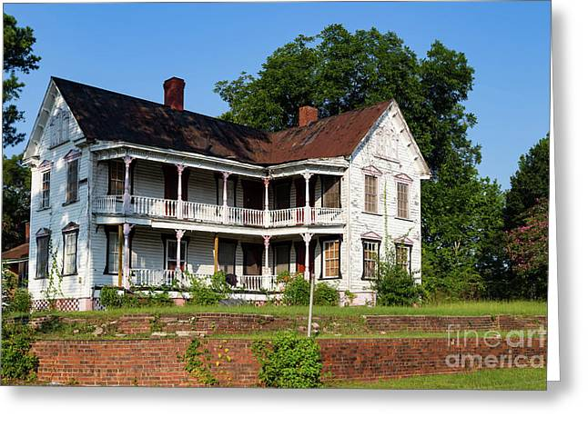 Old Shull Mansion Greeting Card
