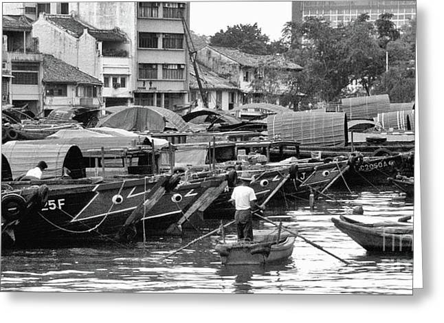 Old Singapore 06 Greeting Card by Rick Piper Photography