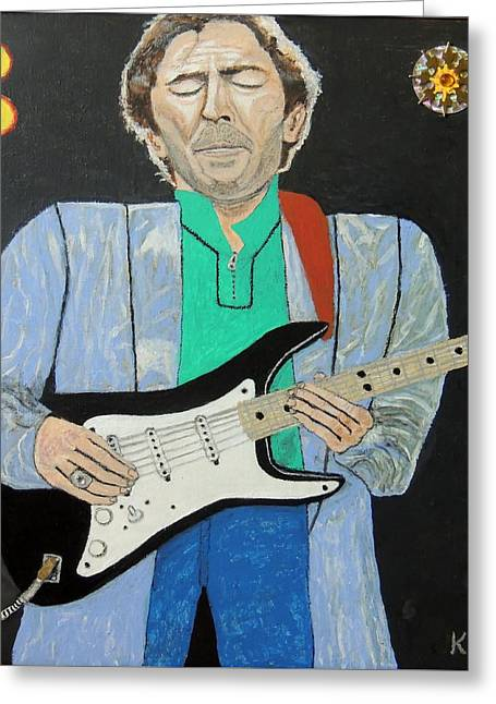 Old Slowhand. Greeting Card by Ken Zabel