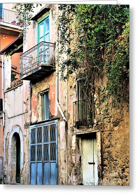 Old Sorrento Street Greeting Card