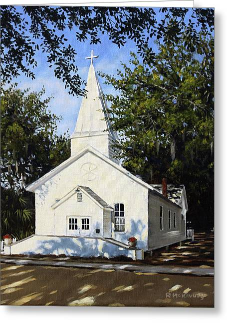Old St. Andrew Church Greeting Card by Rick McKinney